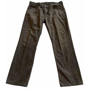 Levi's | Men's dark gray 514 jeans 36x30